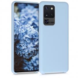 KW TPU Soft Flexible Rubber Samsung Galaxy S20 Ultra - Light Blue Matte (51226.58)