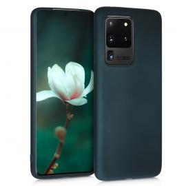 KW TPU Silicone Case Samsung Galaxy S20 Ultra - Metallic Teal (51231.14)