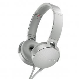 Sony Headphones MDR-XB550AP White (MDRXB550APW.CE7)