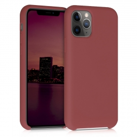 KW TPU Soft Flexible Rubber iPhone 11 Pro - Maroon Red (49726.160)