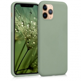 KW TPU Silicone Case iPhone 11 Pro - Gray Green (49788.172)