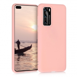 KW TPU Silicone Case Huawei P40 - Rose Gold Matte (51517.89)