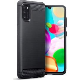 Vivid Carbon Case Samsung Galaxy A41 - Black (VICARB120BK)