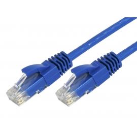 POWERTECH Καλώδιο UTP Cat 5e CAB-N052, CCA, 2m, Blue