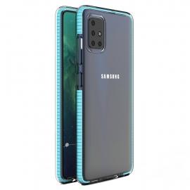 OEM Spring Case TPU Samsung Galaxy A51 - Light blue