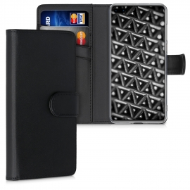 KW PU Leather Wallet Case Huawei P40 - Black (51474.01)