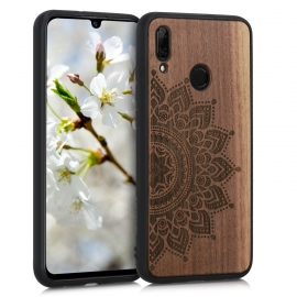 KW Wooden Case Huawei P Smart 2019 - Rising Sun Walnut (48117.09)