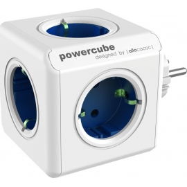Allocacoc PowerCube Original 5-Outlets - Blue (1100BL/DEORPC)