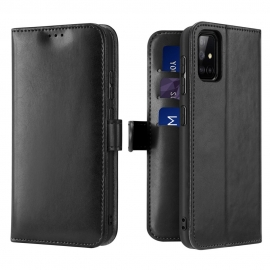 Dux Ducis Kado Bookcase wallet type case Samsung Galaxy A71 - Black