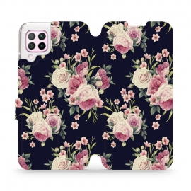Mobiwear Wallet Stand Case Huawei P40 Lite - Wild Roses (V068P)