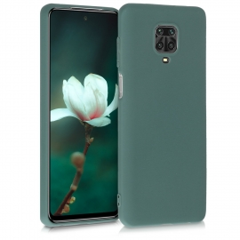 KW TPU Silicone Case Xiaomi Redmi Note 9S - Blue Green (52140.171)