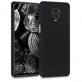KW TPU Silicone Case Xiaomi Redmi Note 9S - Black Matte (52140.47)
