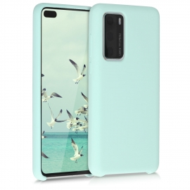 KW TPU Soft Flexible Rubber Silicone Case Huawei P40 - Mint Matte (52291.50)