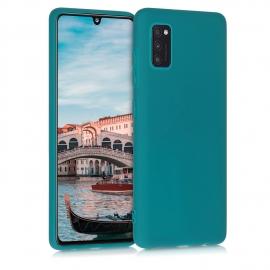 KW TPU Silicone Case Samsung Galaxy A41 - Teal Matte (52251.57)