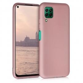 KW TPU Silicone Case Huawei P40 Lite - Metallic Rose Gold (52330.31)