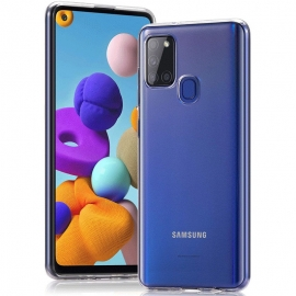 Vivid Gelly Case Samsung Galaxy A21s - Transparent (VIGELLY119TN)