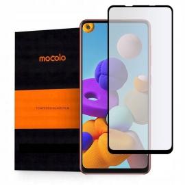 Mocolo Tempered Glass 9H Full Glue Samsung Galaxy A21s - Black