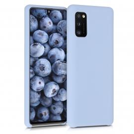 KW TPU Soft Flexible Rubber Samsung Galaxy A41 - Light Blue Matte (52301.58)