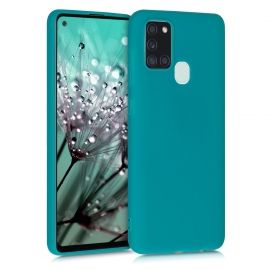 KW TPU Silicone Case Samsung Galaxy A21s - Teal Matte (52494.57)