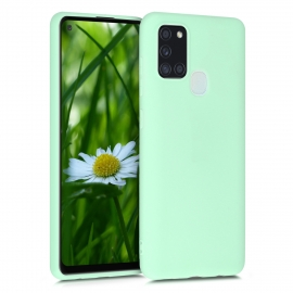 KW TPU Silicone Case Samsung Galaxy A21s - Mint Matte (52494.50)