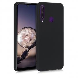 KW TPU Silicone Case Huawei Y6p - Black Matte (52528.47)