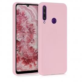 KW TPU Silicone Case Huawei Y6p - Rose Gold Matte (52528.89)